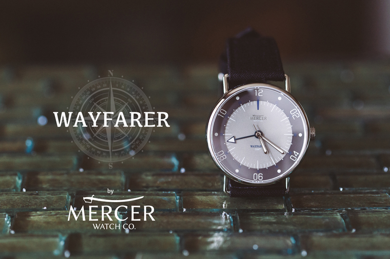 The Wayfarer GMT, from Mercer Watch Co.
