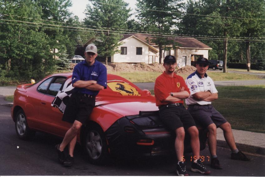 TimeCaptain preparing to attend the GP in '97.