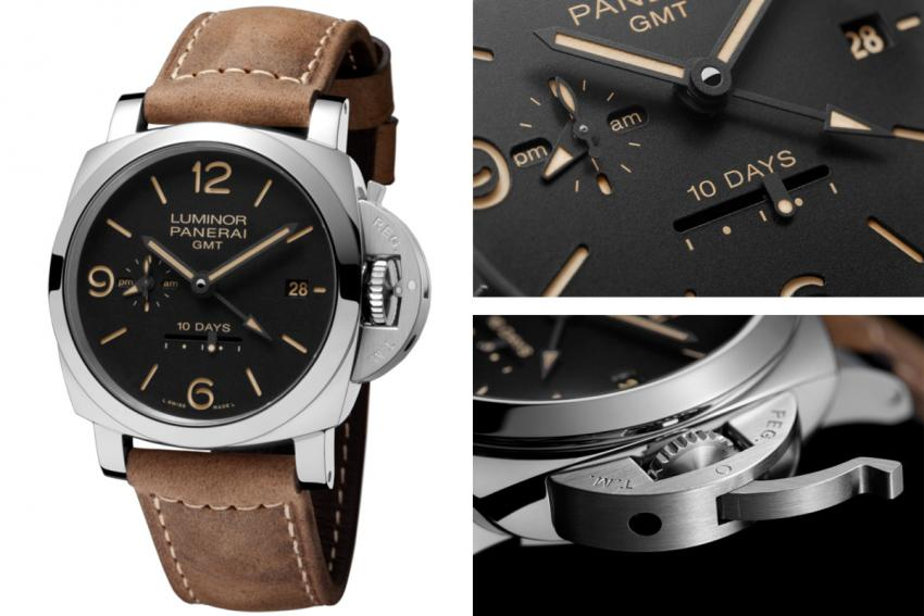 Panerai Luminor 1950 10 Days GMT Automatic Acciaio (PAM00533)