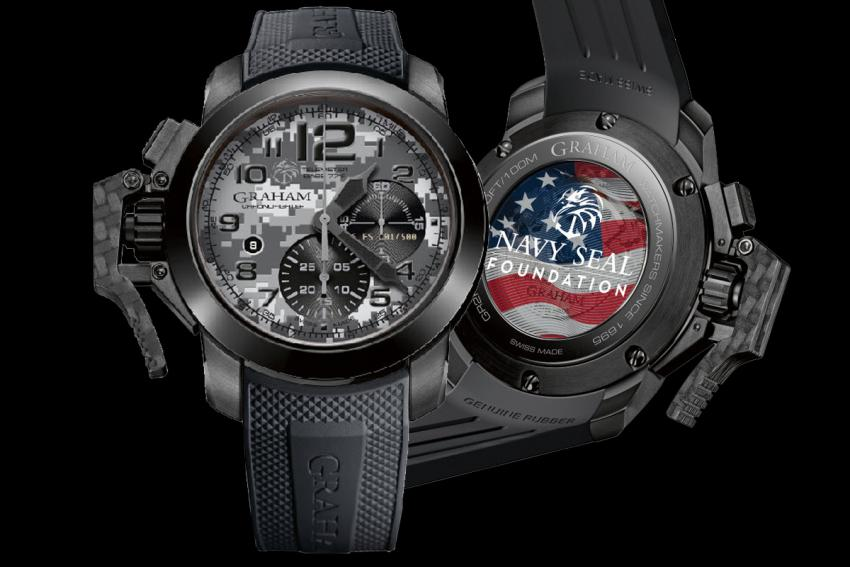 Graham Chronofighter Oversize Navy SEAL Foundation limited edition