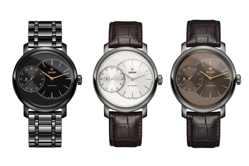 Other models from the DiaMaster Grande Seconde collection