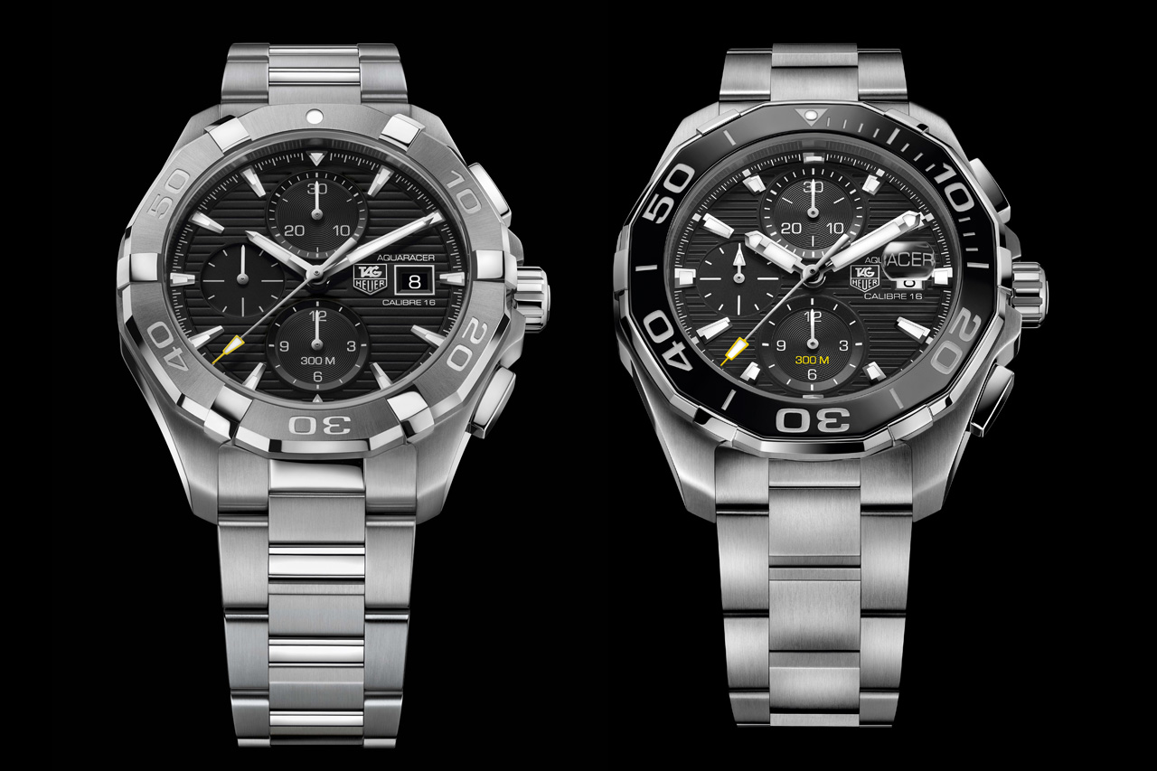 The 2015 TAG Heuer Aquaracer 300M Collection