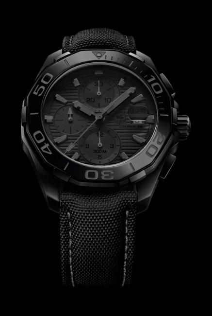 TAG Heuer Aquaracer 300M Ceramic (43 mm) Calibre 16 Black Phantom