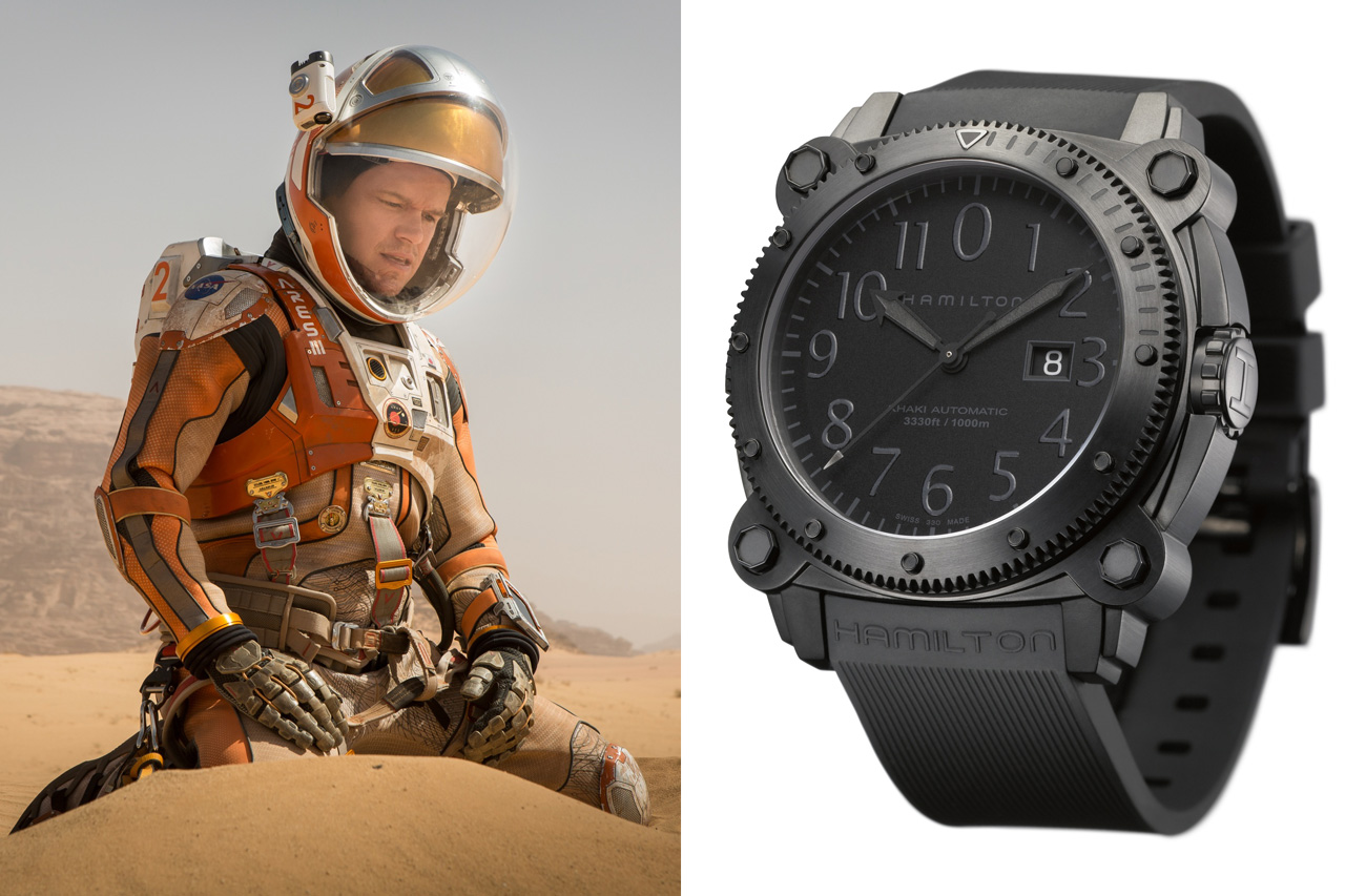 Hamilton Watches In The Martian Watchpaper