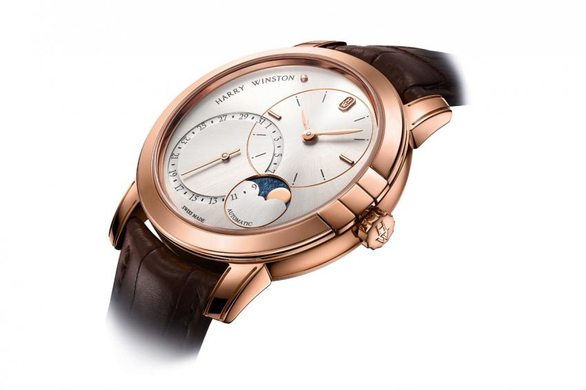 Harry Winston Midnight Date Moonphase Automatic 42mm