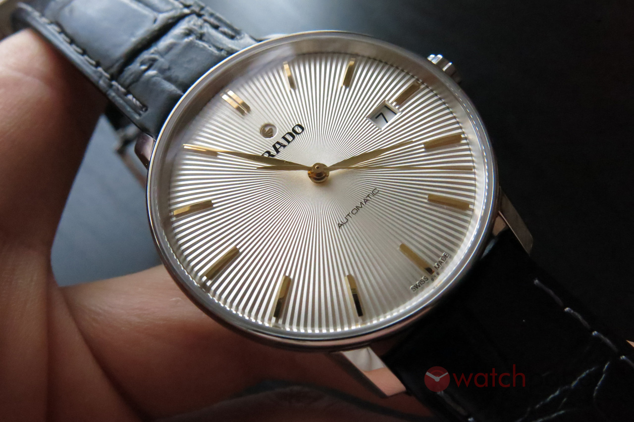 Rado Coupole Classic Automatic — hands-on review  fbabaa4ec2