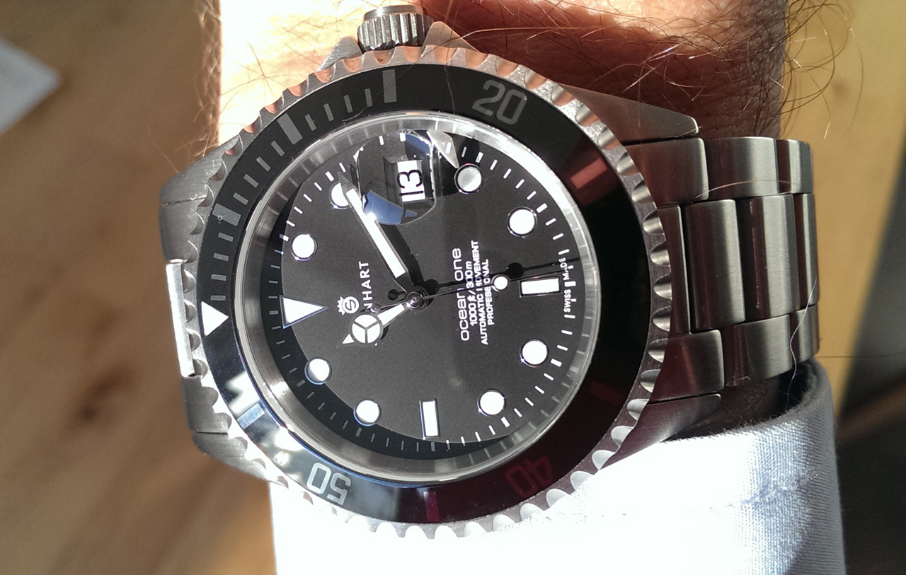 Steinhart Ocean One Black And The Case Of The Homage Watch