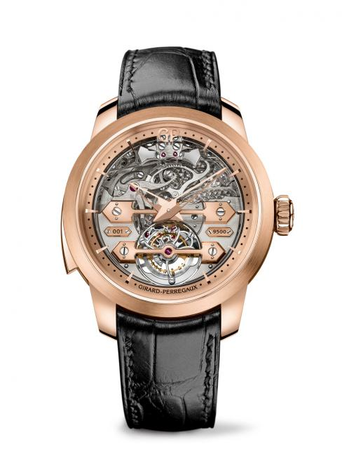 Girard-Perregaux, Minute Repeater Tourbillon with Gold Bridges