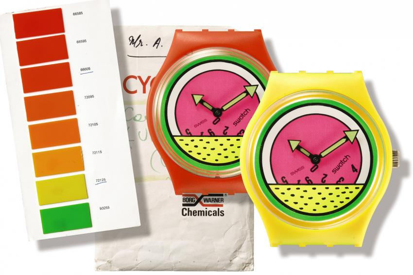 Swatch CYCOLAC - Schmid & Muller Collection