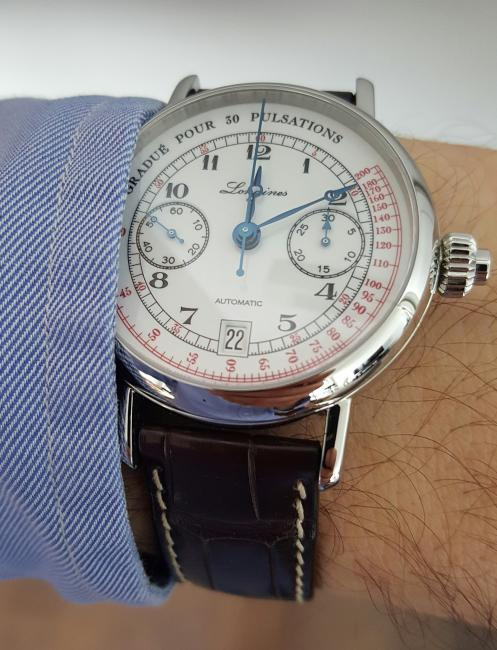 Another look at the Longines Pulsometer Chronograph