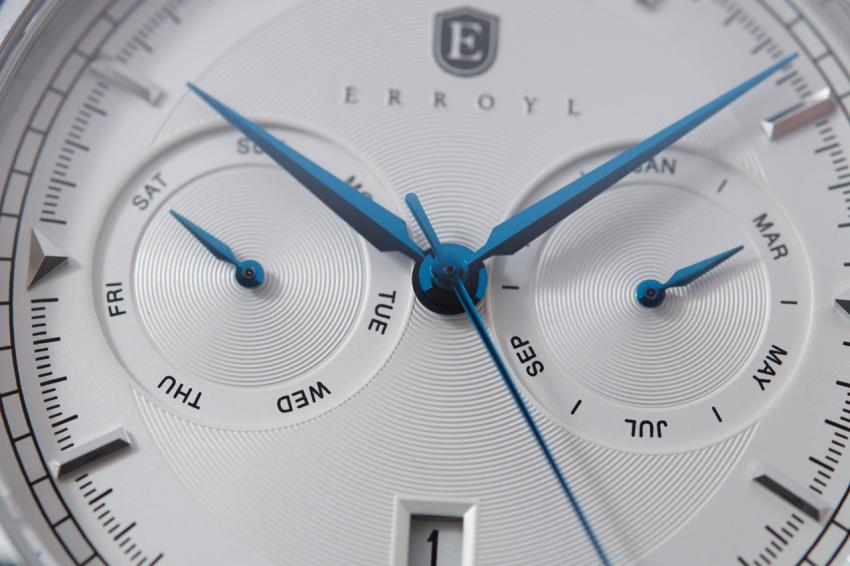A closer look at the Erroyl Regent Dial