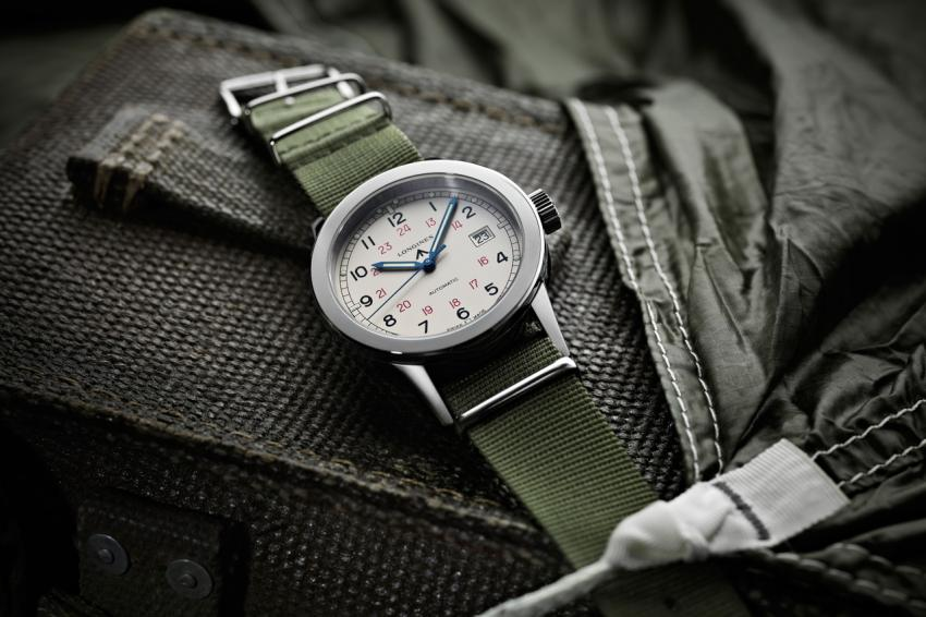 Longines Heritage Military COSD (Ref. L2.832.4.53/73.x)