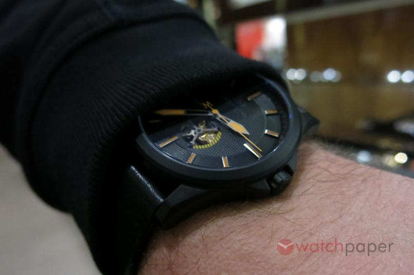 Another wrist shot of the Avalon