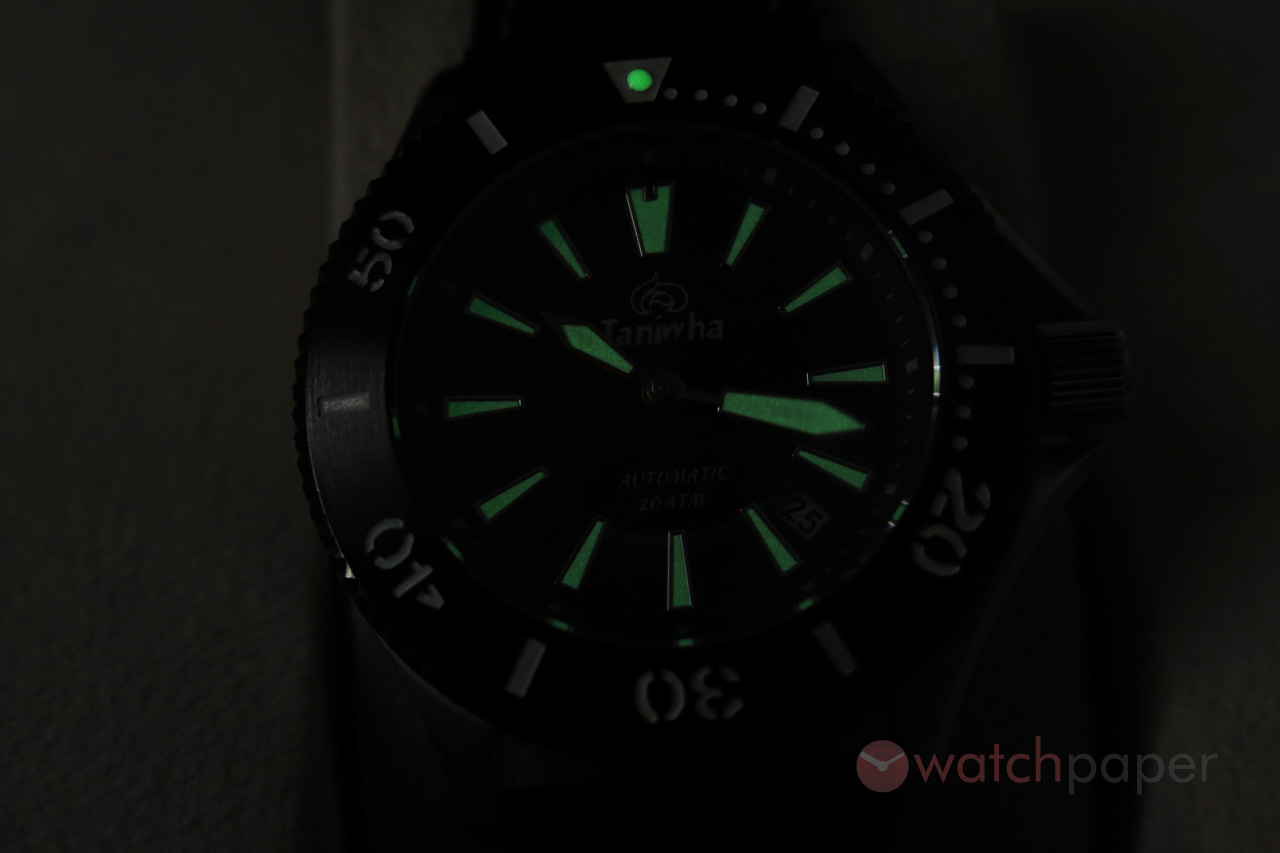 Taniwha Ururoa Dive Watch Hands On P Review Watchpaper