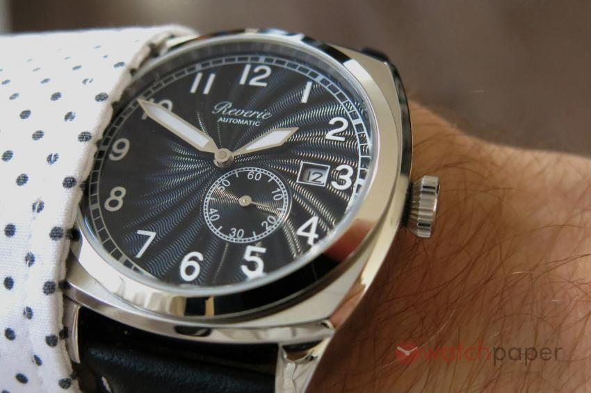 A wrist shot of the Reverie Sea-Spirit