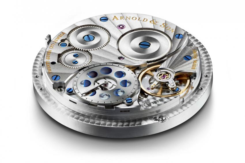 The back of the A&S1512 will unveil the second moon indication used when setting the moon phase.