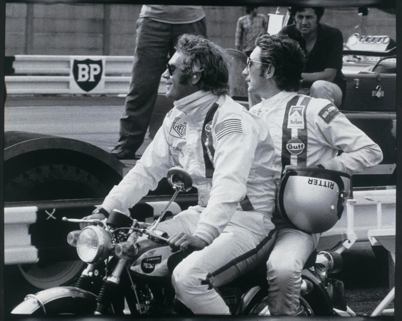 Steve McQueen and Jo Siffert