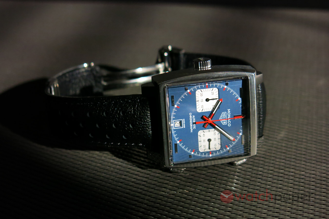 3595f617cf8f2 TAG Heuer Monaco Calibre 11 CAW211P — hands-on review