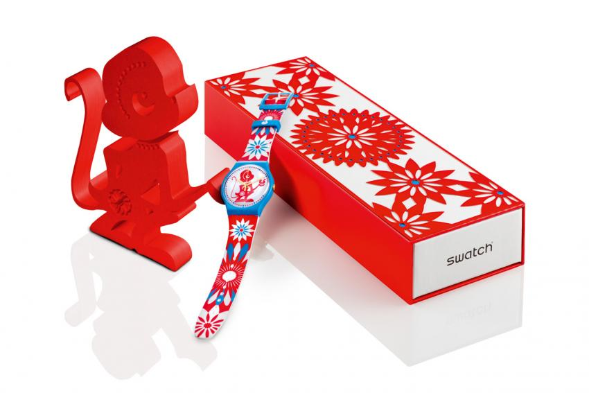 Swatch Lucky Monkey (SUOZ203)