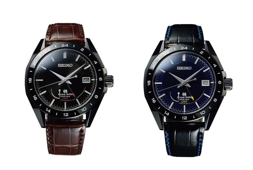 Grand Seiko Black Ceramic Limited Edition SBGE037 and SBGE039