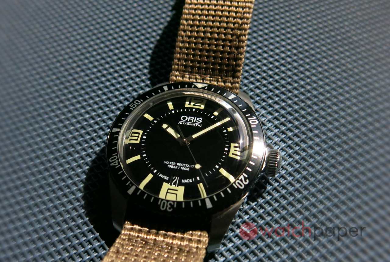 oris divers sixty five hands on review watchpaper