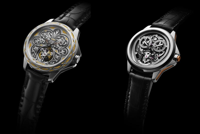 How about taking a closer look at one-of-a-kind pieces by Artya, such as the Brabant Tourbillon, or the Chronograph Tourbillon Monopusher?