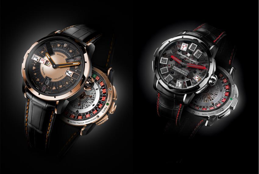 Since you're in Vegas, how about a Poker of Black Jack party the Christophe Claret way?