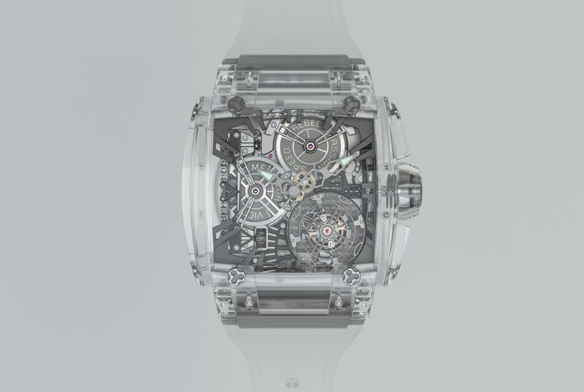 The Rebellion Timepieces 540 Magnum Tourbillon with sapphire crystal case. It can be yours for $4,000,000...
