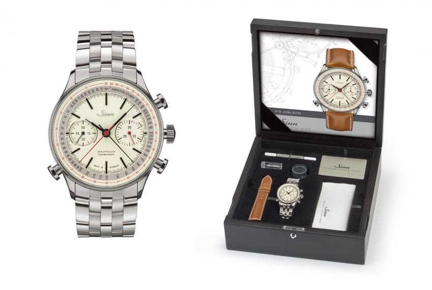 Sinn 910 Anniversary split-seconds chronograph