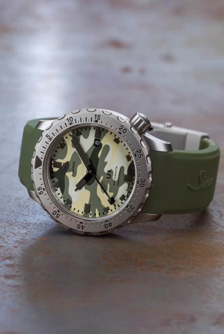 Sinn U1 Camouflage is limited to 500 pieces.
