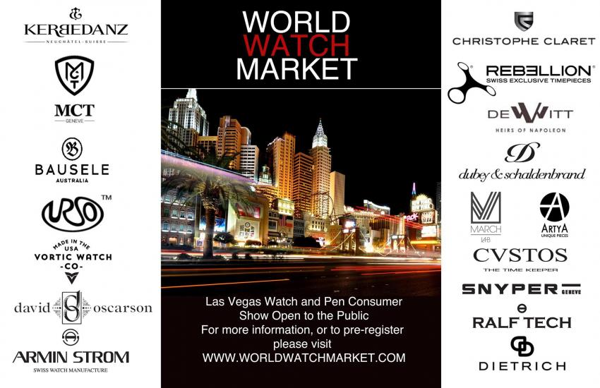 The list of brands present at the World Watch Market