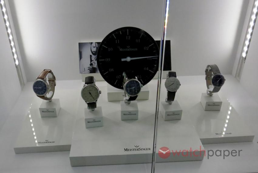 The MeisterSinger collection.