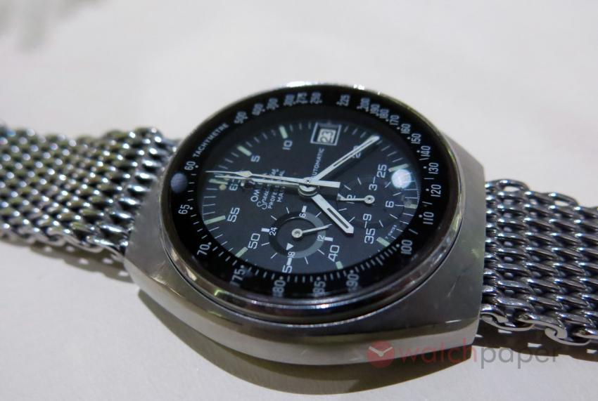 Omega Speedmaster Mark 4 from the personal collection of the Cantiani family.
