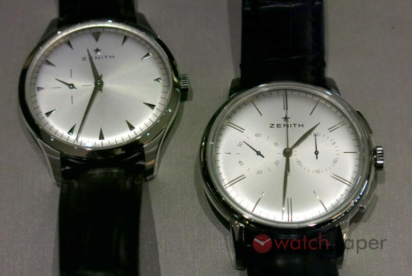 Zenith Elite Ultra Thin and Elite Chronograph Classic