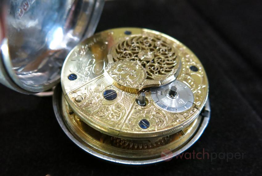 N. Preston London 1794 — fusee pocket watch