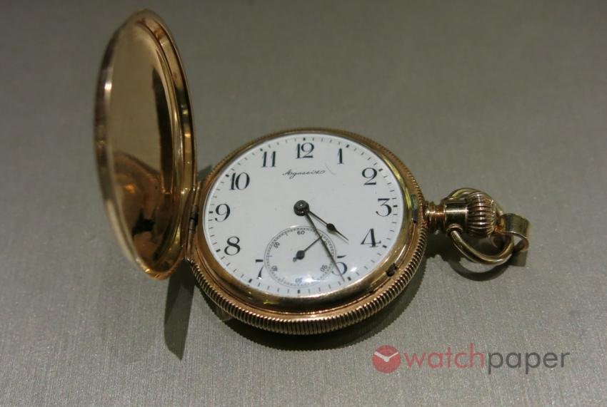 Agassis pocket watch. If the Agassis name sounds familiar, it is because of Auguste Agassiz, who was the founder of Longines.