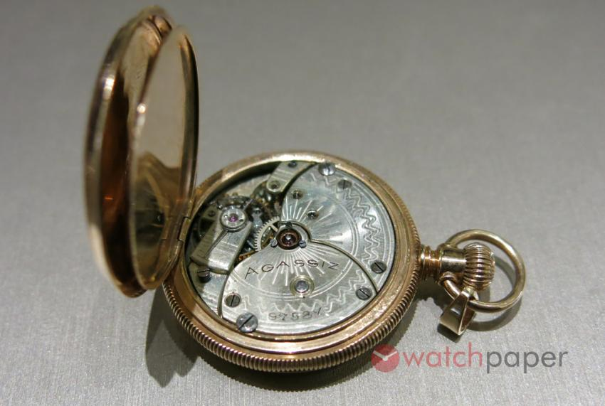 Agassiz pocket watch. While Longines, doesn't consider it a 100% Longines movement, these watch were imported to North America by a member of the Agassiz family.