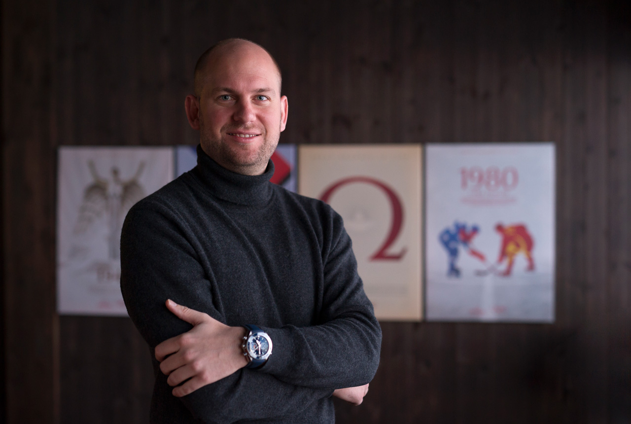 Alain Zobrist, CEO of Omega Timing