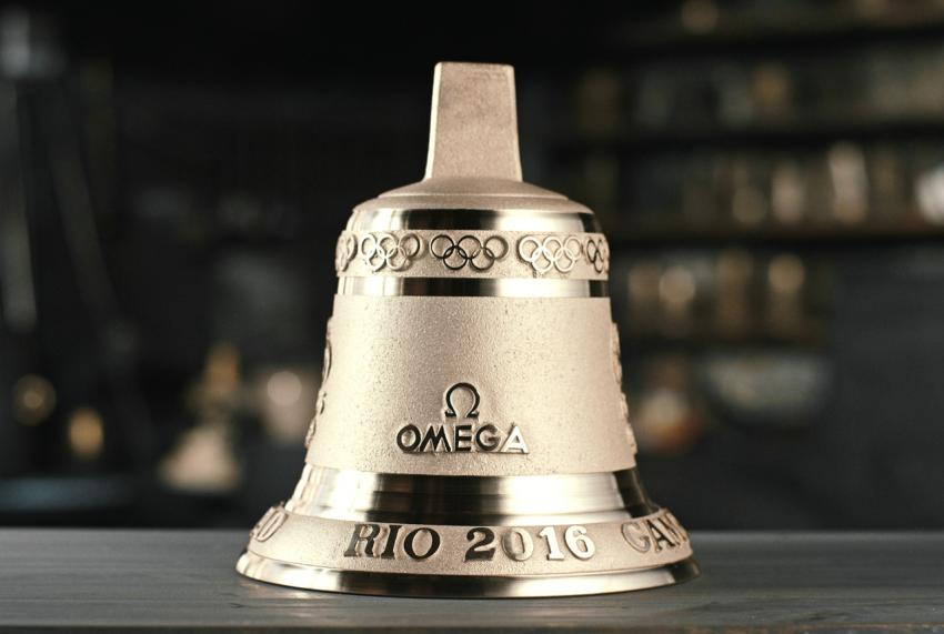 In Rio, there will be 21 Omega Last-lap bronze bells.