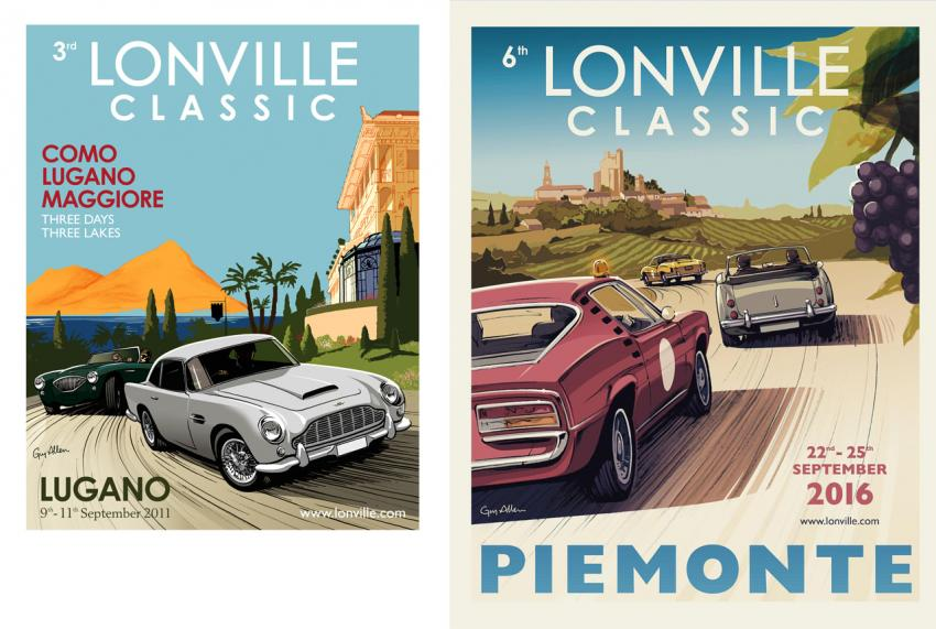Lonville Classic posters