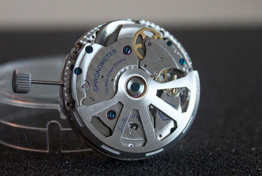 COSC certified Lonville LV2 automatic calibre.