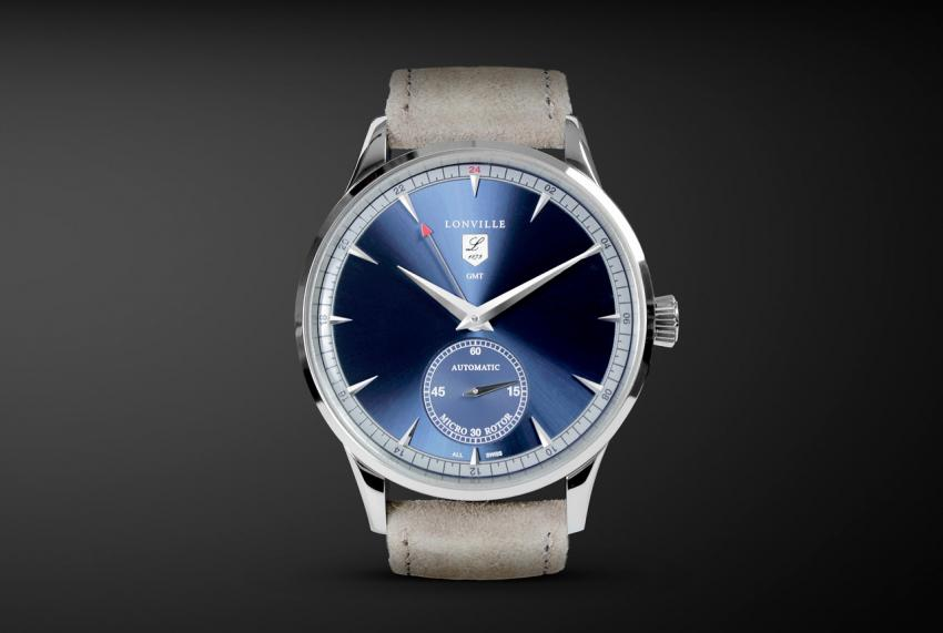 Lonville Virage '59 Blue GMT