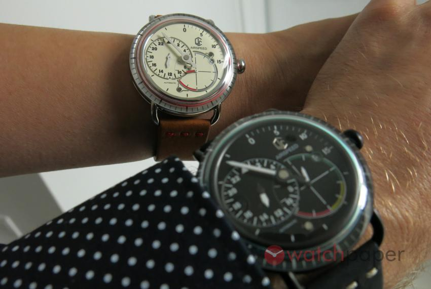CJR Watches Airspeed Vintage and Pilot