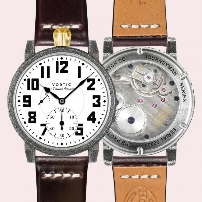 Vortic Journeyman Power Reserve using the Weiss Caliber 1003