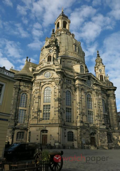 The Frauenkirche in Dresden