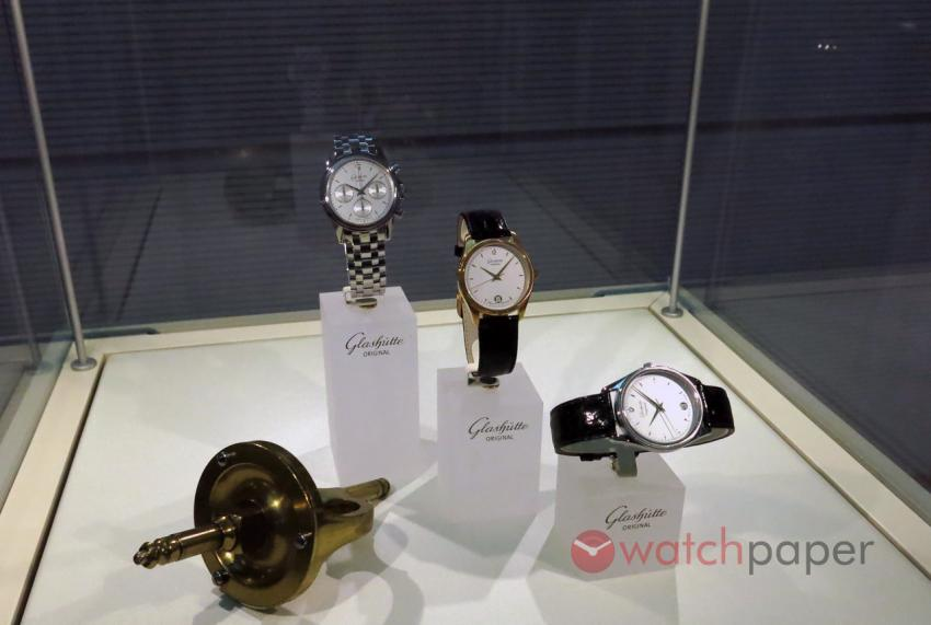 Some of the first models from 1994, produced under the new Glashütte Original brand.