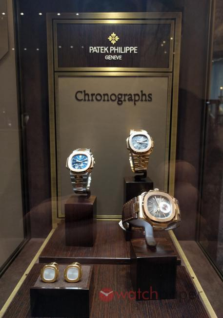 Patek Philippe exhibition at Kaufmann de Suisse in Montreal