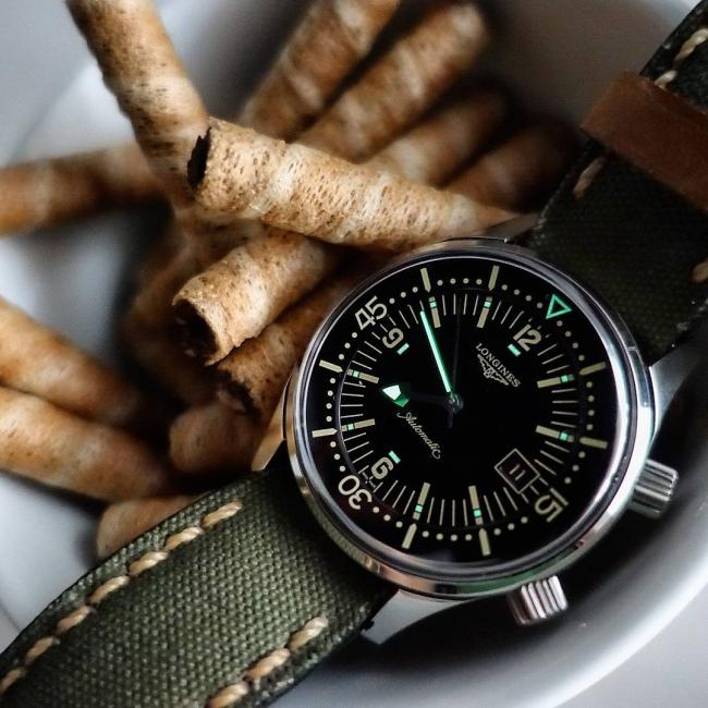 Longines Legend Diver, by @mrelico