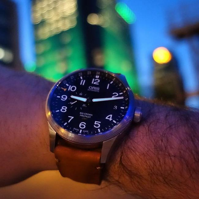 Oris Big Crown ProPilot GMT, Small Second, by @mrelico