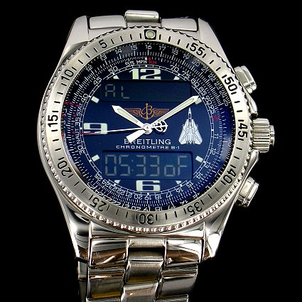 Breitling B-1 F14 Tomcat special edition (photo credit: ClassicWatchCenter)